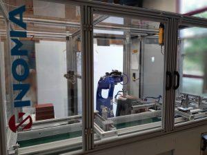 Weitere Innovative Automatisierungszelle für Einlegeteile