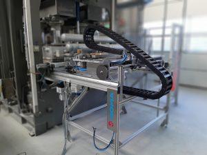 Automatisierte Bürst- u. Sprühvorrichtung